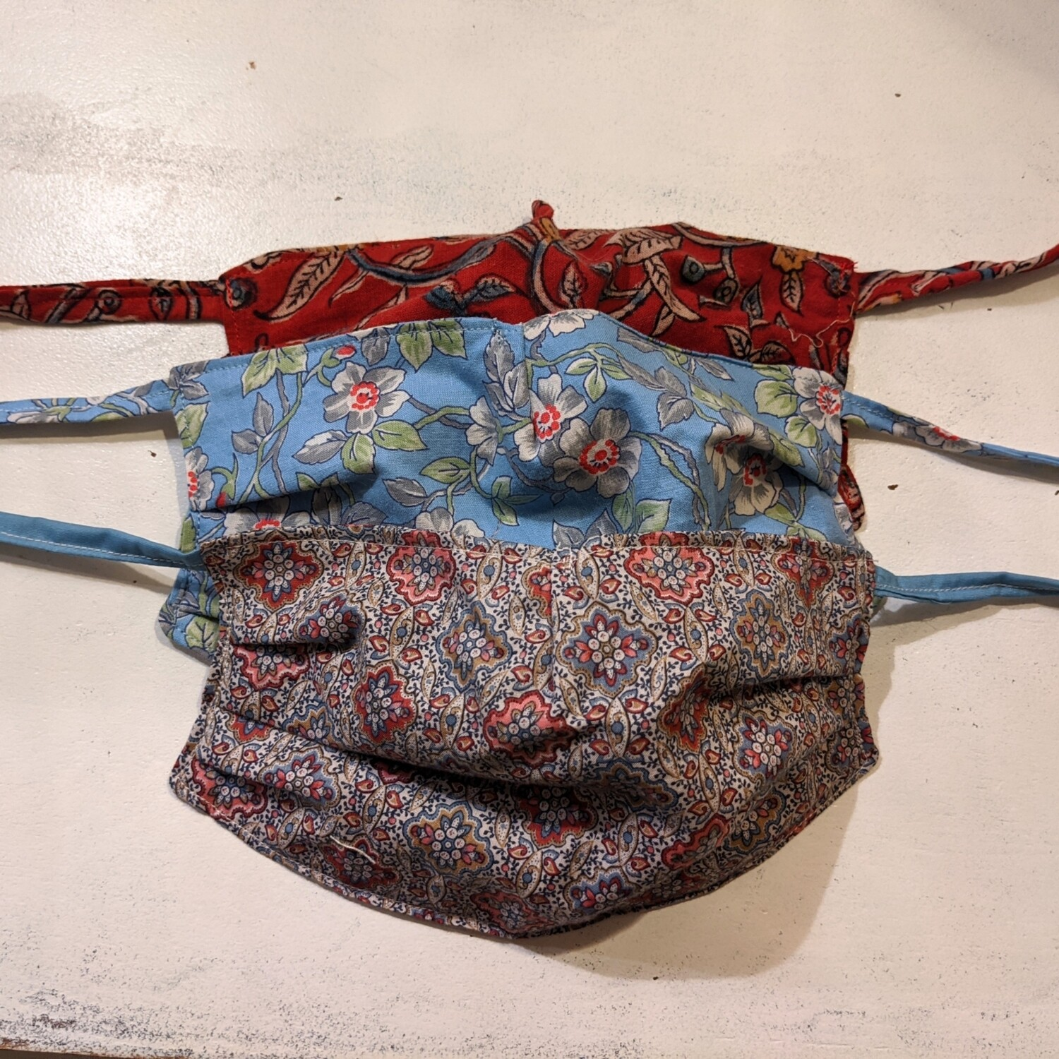 BUY A MASK, GIVE A MASK Washable Reusable Cotton Face Mask With Ties