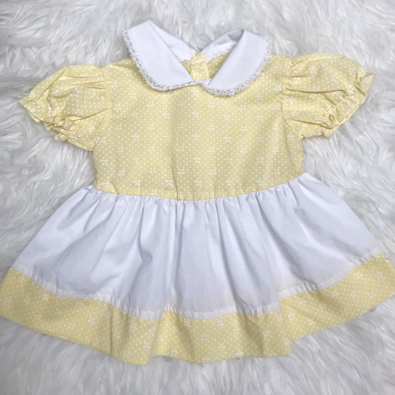 Kids Yellow Dress