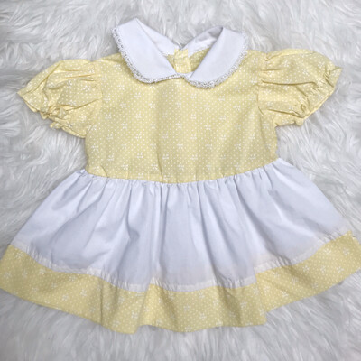 Kids Yellow Dress