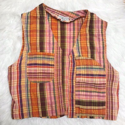 Striped Vintage Vest