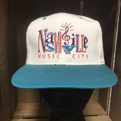 Nashville Music City Hat