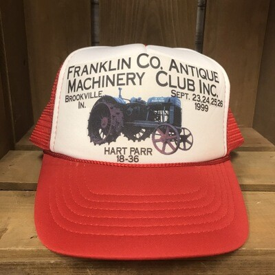 Franklin Co. Antique Machinery Club Trucker Hat