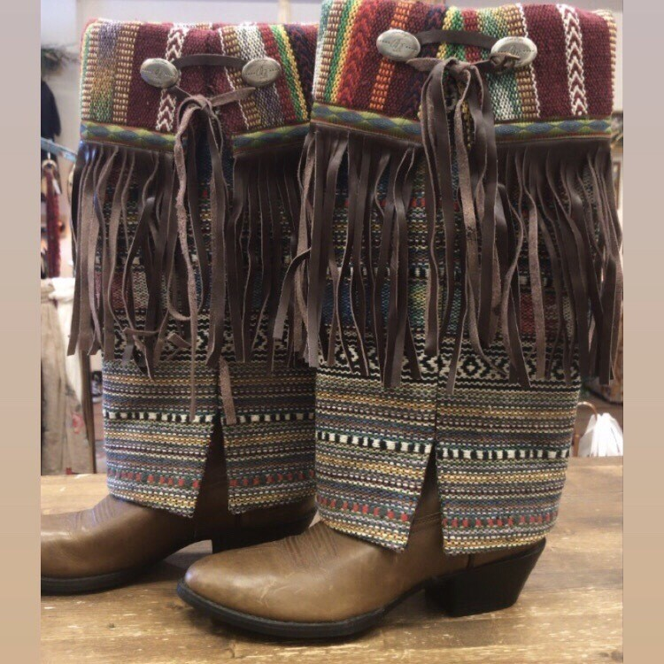 Fringe Boot Covers