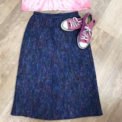 Vintage Mohair/Wool Pencil Skirt