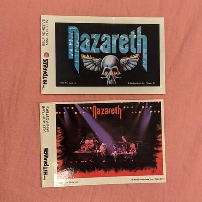 NAZARETH Vintage Deadstock Mini Band Poster Set of 2