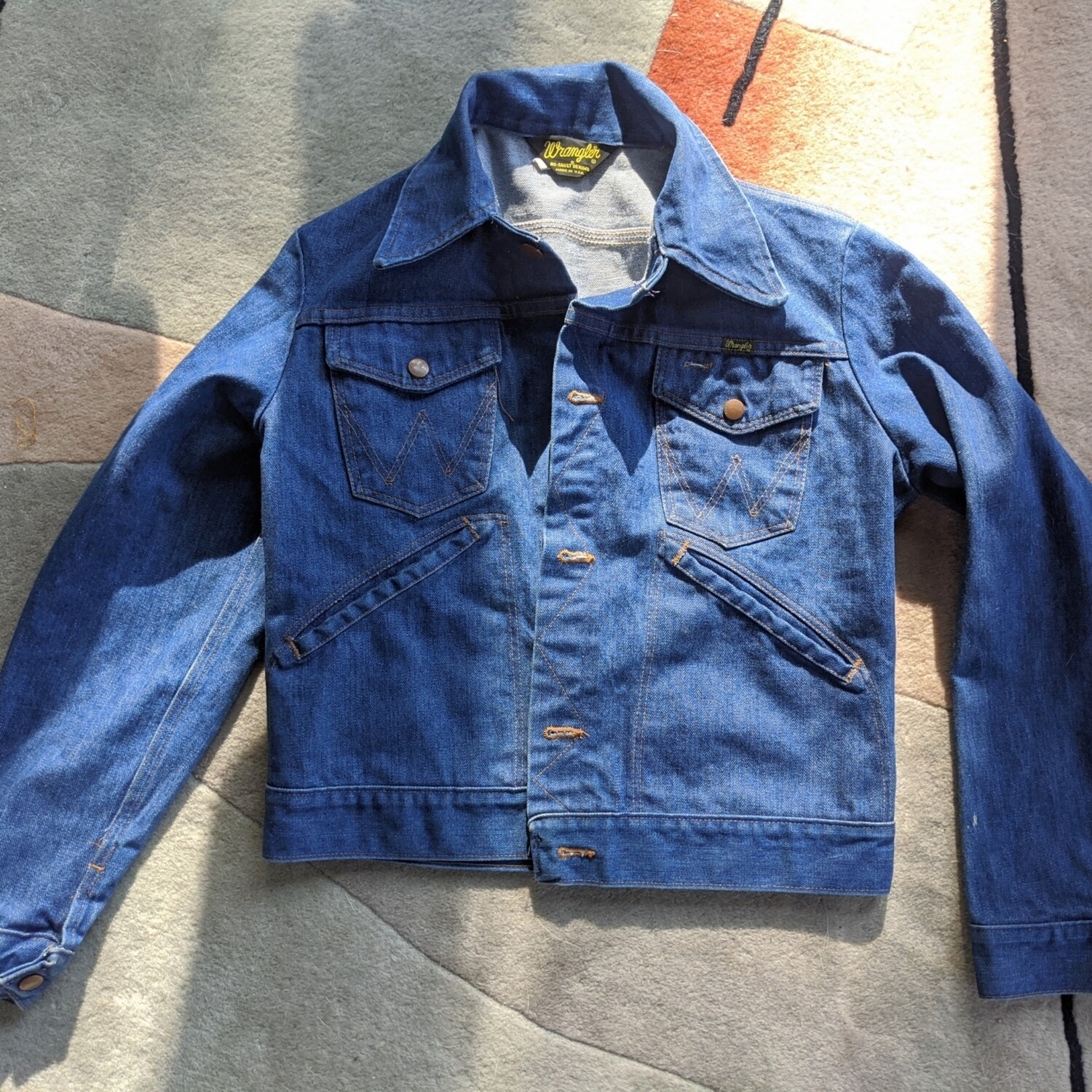 1970s Wrangler No Fault Denim Trucker Jacket