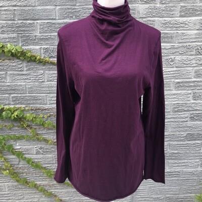 Cotton Turtleneck | 2 Colors Available