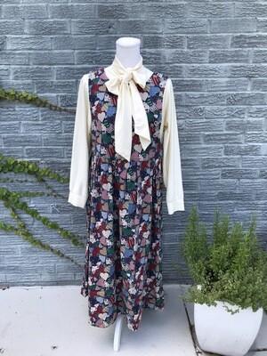 Vintage Handmade Heart Dress