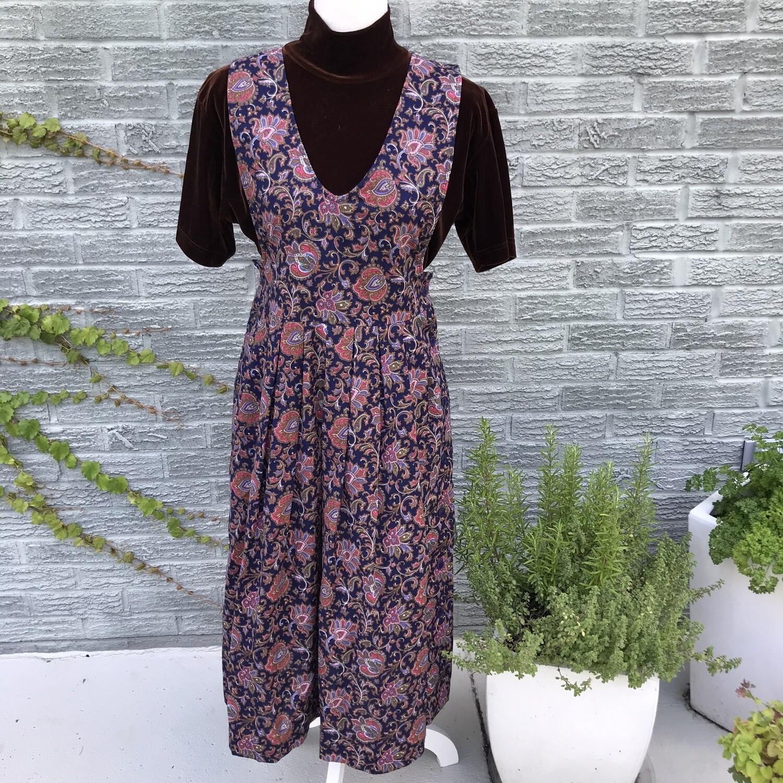 90s Paisley Maxi Dress