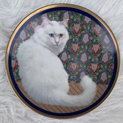 Decorative Kitty Plate