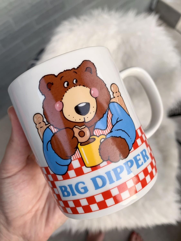 Vtg. Big Dipper Donut Mug