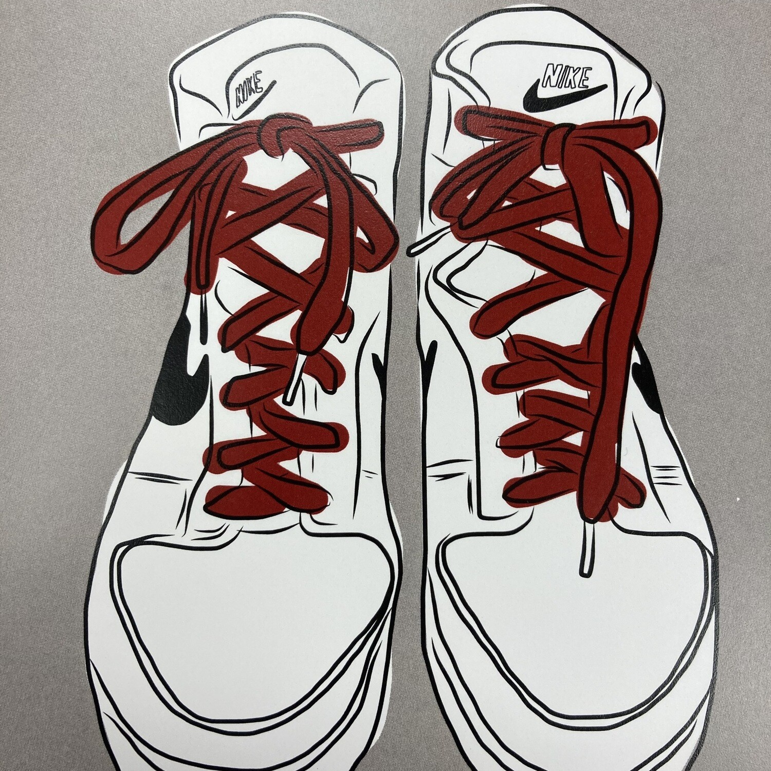 Sneakers Print By Alex Fraga