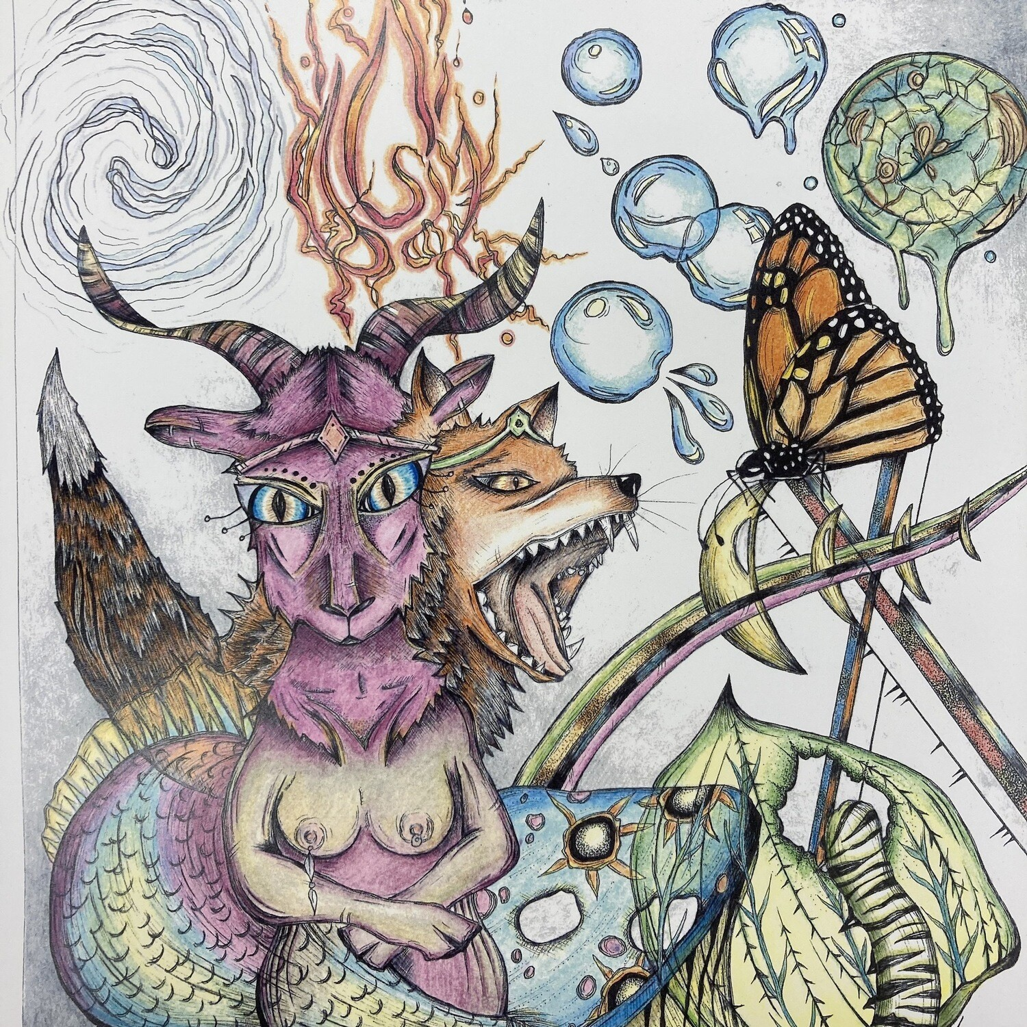 Cacophony Metamorphosis Print By Nuanced Earth Art
