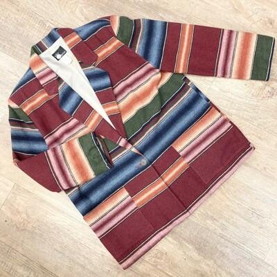 Southwestern Blanket Blazer