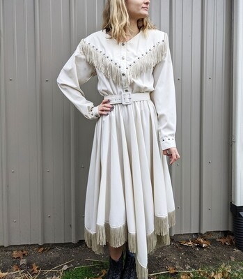 Western Collection Fringed Dress