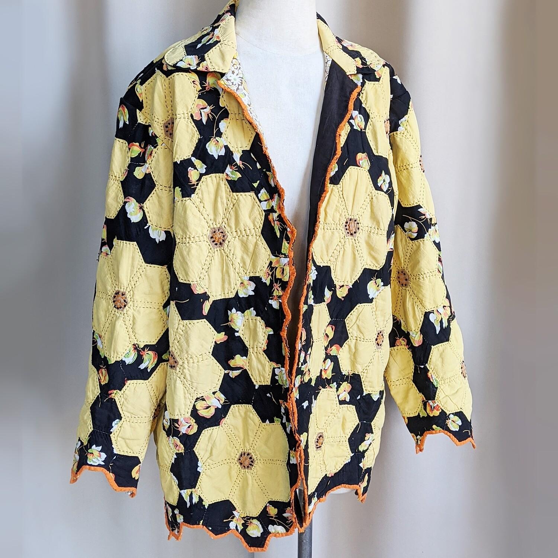 Handmade Vintage Quilt Coat