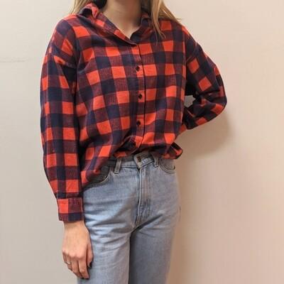 Ricki Buffalo Plaid Flannel Shirt