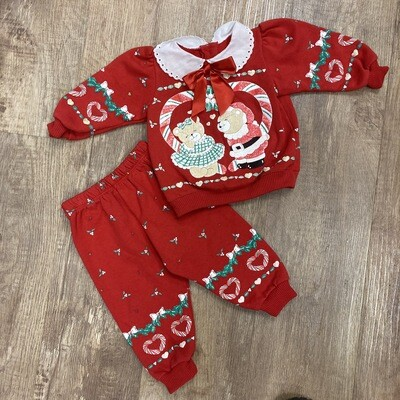 Kids 2 Pc. Holiday Outfit | Size 18 months