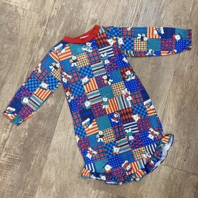Kids Vintage Bear Nigh Gown | Size 4T