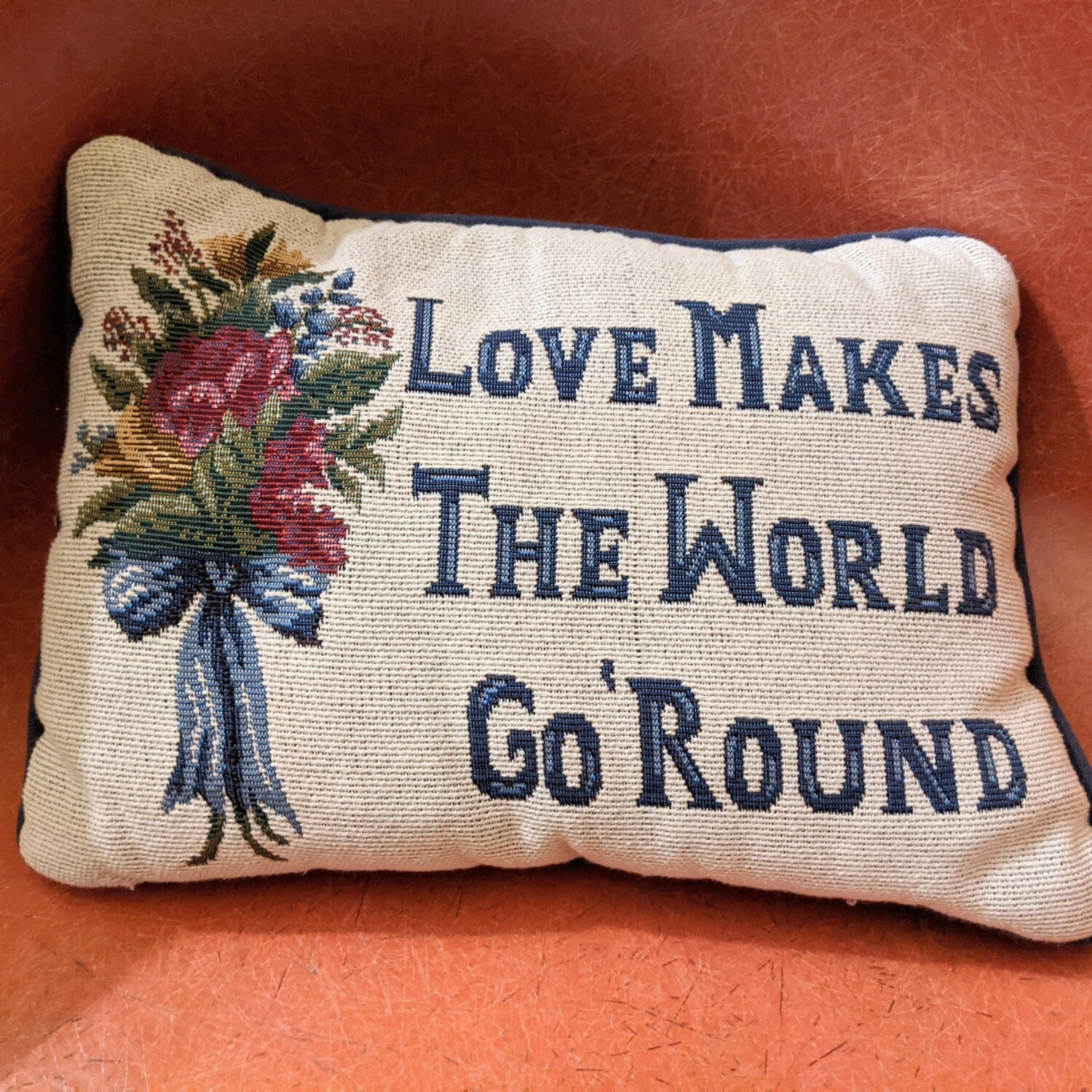 Love Makes the World Grow Pillow