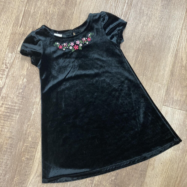 Kids Velvet 90s Dress | Size 3T