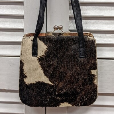 Valerie Stevens Cowhide + Leather Purse