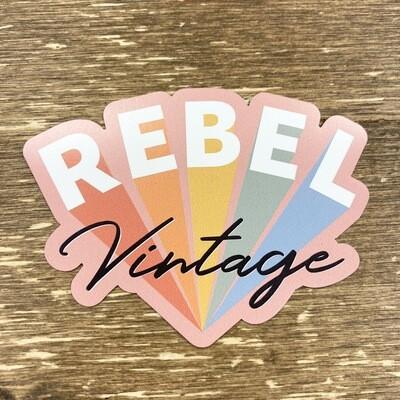 Rebel Vintage Magnet