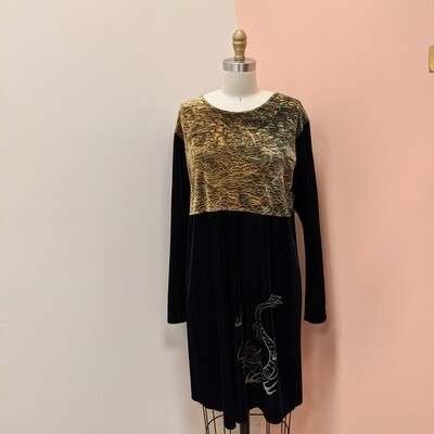 Miyo New York Velvet Dragon Dress
