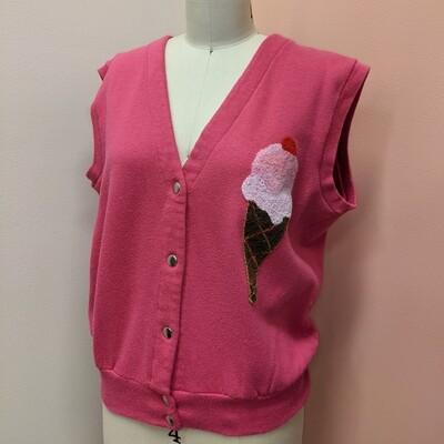 Boucle Ice Cream Sweater Vest