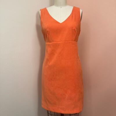 90s Suede Vision Apparel Dress