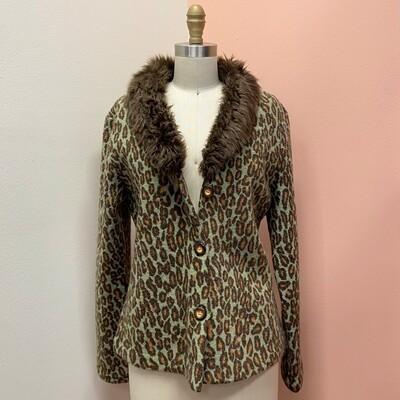 Paraphrase Leopard Jacket