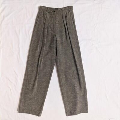 Handmade Grey Wool Pants