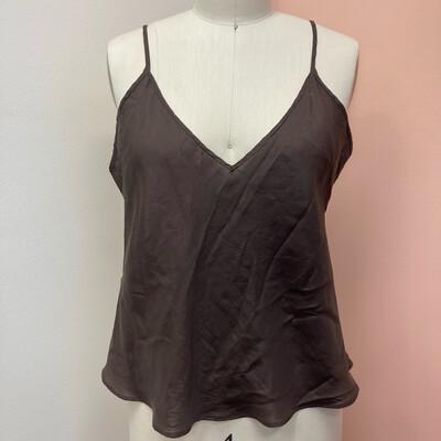 Brown Silk Camisole