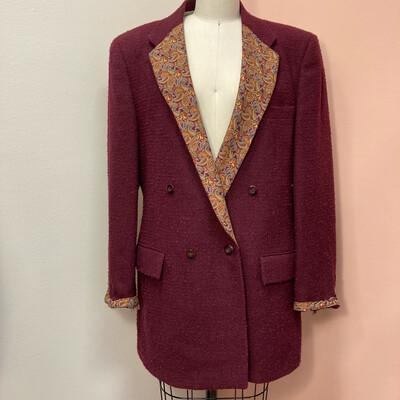 Tweed & Paisley Blazer