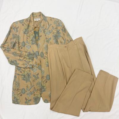 Giorgio Armani 2-Pc Floral Suit