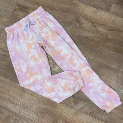 Pink Tie Dye Sweatpants