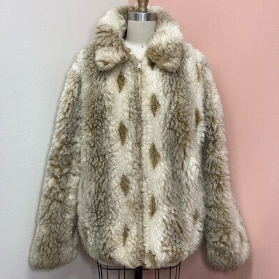 Faux Alpaca Jacket
