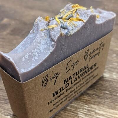 Big Eye Beauty Soapery Natural Wild Lavender Body Soap