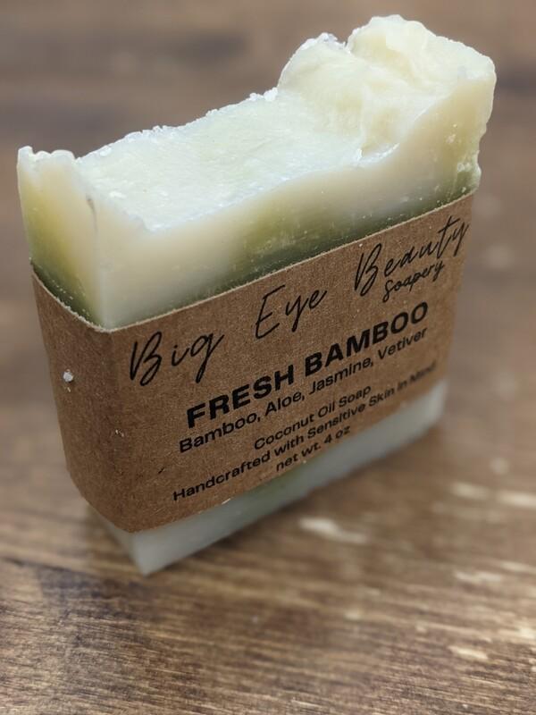 Big Eye Beauty Soapery Fresh Bamboo Body Soap