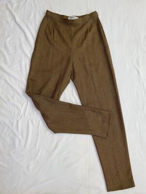 Giorgio Armani Le Collezioni High-Waist Wool Slacks