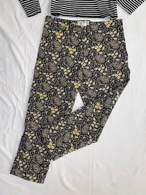 Paul & Joe Floral Capri Pants