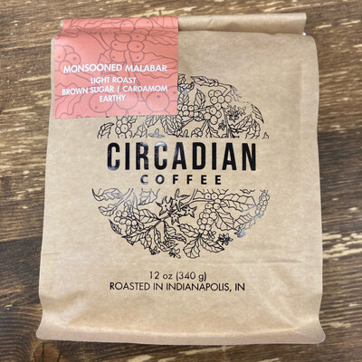 Circadian Coffee   Monsooned Malabar   Light Roast