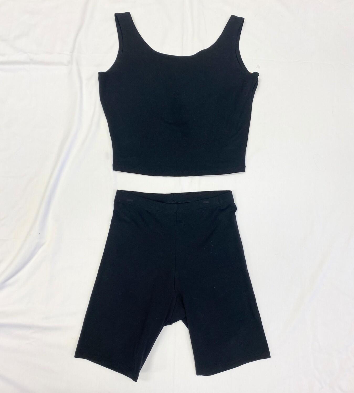 Deadstock Gilda Marx Shorts + Bralette Set