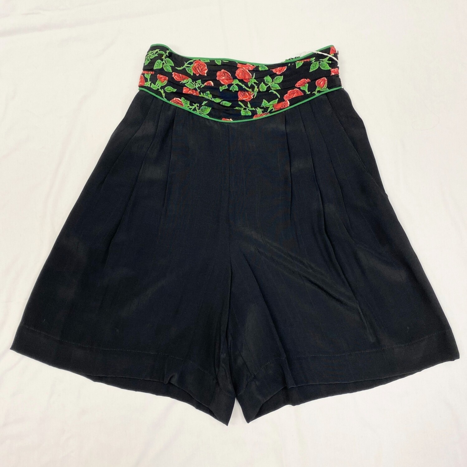 Platinum Collection Black Rose Shorts
