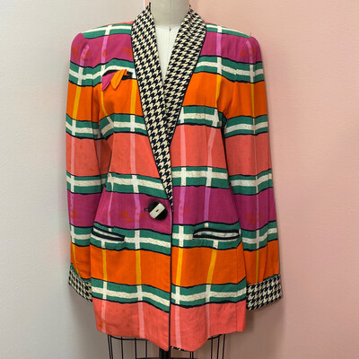 Platinum Collection Orange & Pink Blazer