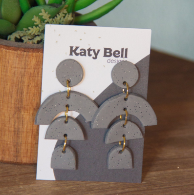 Katy Bell Designs Marley Polymer Clay Earrings