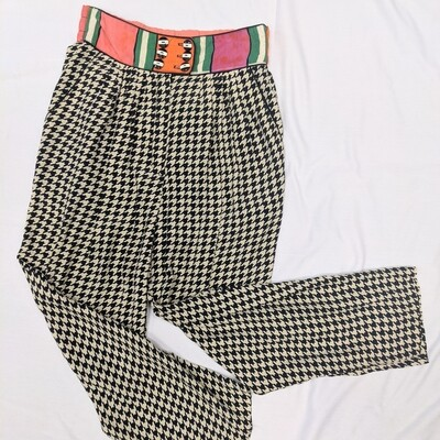 1980s Platinum Collection Houndstooth Pants