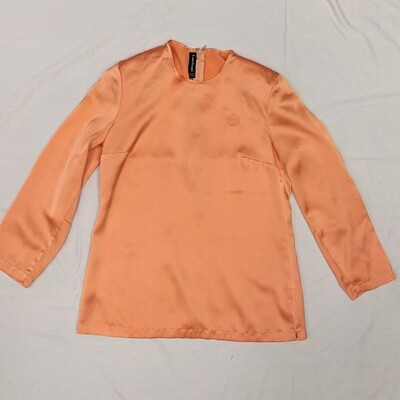 Louis Feraud Peach Blouse