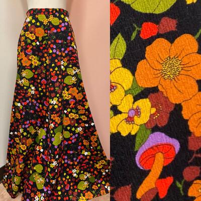 Mushroom Maxi Skirt