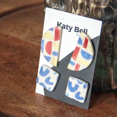 Katy Bell Designs Gigi Polymer Clay Earrings
